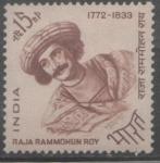 Sellos del Mundo : Asia : India : RAJA RAMMOHUN ROY 1772-1833 RELIGIOSO REFORMISTA-