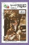 Stamps : Asia : Cambodia :  INTERCAMBIO