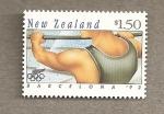 Stamps New Zealand -  Barcelona 92