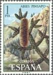Sellos de Europa - España -  ESPAÑA 1972 2085 Sello Nuevo Serie Flora Pinsapo