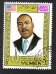 Stamps : Asia : Yemen :  Año internacional de los derechos humanos