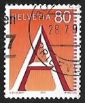Stamps Europe - Switzerland -  First Class Mail