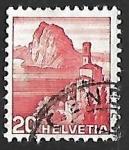 de Europa - Suiza -  Castagnola Church