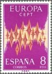 Sellos de Europa - España -  ESPAÑA 1972 2091 Sello Nuevo Serie Europa CEPT Alegorias