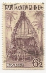 Sellos del Mundo : Oceania : Papúa_Nueva_Guinea :  Arquitectura | Casas | Edificios