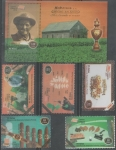 Sellos de America - Cuba -  NATALICIO DE ALEJANDRO ROBAINA HABANOS HECHOS EN CUBA