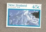 Sellos del Mundo : Oceania : Nueva_Zelanda : Hielo de glaciar