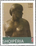 Stamps : Europe : Albania :  Sculpture by Janaq Paço