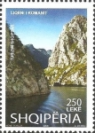 Stamps : Europe : Albania :  Gorges 2