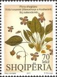 Stamps : Europe : Albania :  Flowers 2