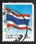 sello : Asia : Tailandia : Bandera nacional
