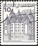 Stamps Europe - Germany -  Glücksburg Castle (GFR)