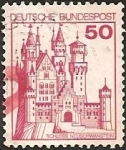 Stamps Europe - Germany -  Neuschwanstein Castle (GFR)