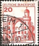 Stamps Europe - Germany -  Peacock Island Castle, Berlin (GFR)