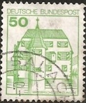 Stamps Europe - Germany -  Water Castle Inzlingen (GFR)