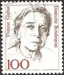 Stamps Europe - Germany -  Therese Giehse (1898-1975), actress (GFR)