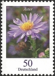 Stamps Europe - Germany -  Flowers - Autumn Aster (GFR)