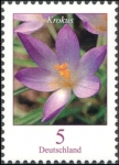 Stamps Europe - Germany -  Flowers - Krokus (Elves Crocus) (GFR)