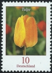 Stamps Europe - Germany -  Flowers - Tulpe (tulip) (GFR)