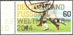 Stamps Europe - Germany -  Germany World Champion Football Brazil 2014 (GFR)