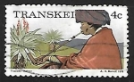 Stamps Africa - South Africa -  Transkei- costumbres