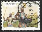 Stamps South Africa -  Transkei - conjuntos musicales
