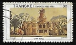 Stamps South Africa -  Transkei - City Hall