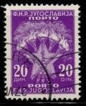 Stamps Yugoslavia -  YUGOSLAVIA_SCOTT J71.02 $0.2