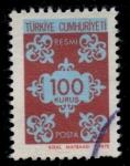 Sellos de Asia - Turquía -  TURQUIA_SCOTT O138 $0.2