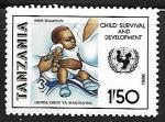 Sellos de Africa - Tanzania -  Immunization