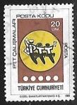Sellos de Asia - Turquía -  Gente bailando