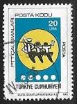 Sellos del Mundo : Asia : Turquía : Gente bailando