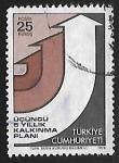 Stamps Turkey -  Flechas