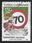 Stamps Turkey -  Seguridad Vial
