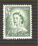 Stamps New Zealand -  INTERCAMBIO