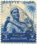 Sellos del Mundo : Africa : Egipto : Agriculture