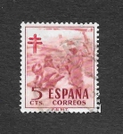 Stamps of the world : Spain :  Pro-Tuberculosos