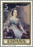 Sellos de Europa - España -  ESPAÑA 1973 2150 Sello Nuevo Pintor Vicente Lopez Portaña Isabel II
