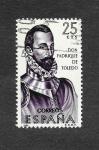 Stamps : Europe : Spain :  Edf 1678 - Forjadores de América