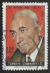 Stamps Turkey -  Cemal Gursel
