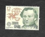 Stamps : Europe : Spain :  Edf 2521 - Europa Cept