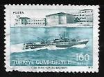 Sellos del Mundo : Asia : Turquía : Escuela Naval