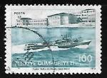 Sellos de Asia - Turquía -  Escuela Naval