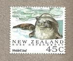 Sellos del Mundo : Oceania : Nueva_Zelanda : Dependencia de Ross , Foca Weddell