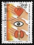 Stamps Turkey -  Organos - Transplantes