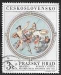 sellos de Europa - Checoslovaquia -  1787 - Tesoro del Castillo de Praga