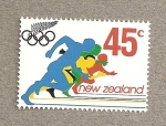 Stamps New Zealand -  Carreras