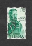 Stamps Spain -  Forjadores de América.