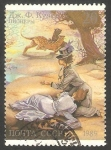 Sellos de Europa - Rusia -  5687 - II Centº del nacimiento del escritor americano James Fenimore Cooper