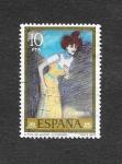 Stamps Spain -  Edf 2484 - Pintura